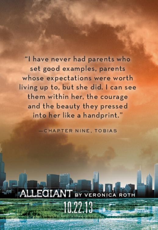 Les citations d'Allegiants! | Divergent Fans France