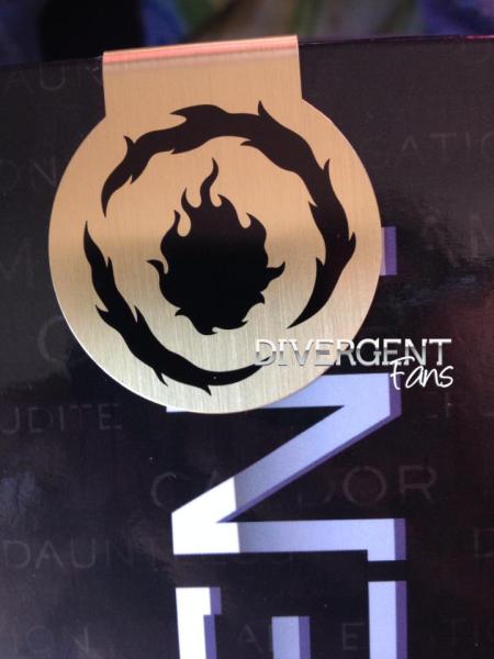 DivergentMovieDauntlessbookmark