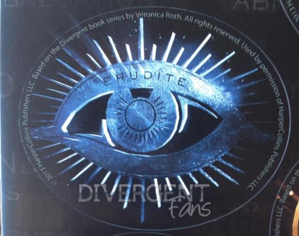 DivergentMovieMerchandiseErudite