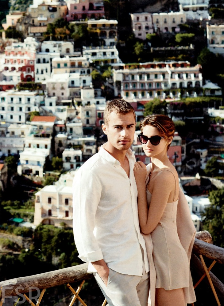 Shailene Woodley et Theo James dans InStyle Magazine ...