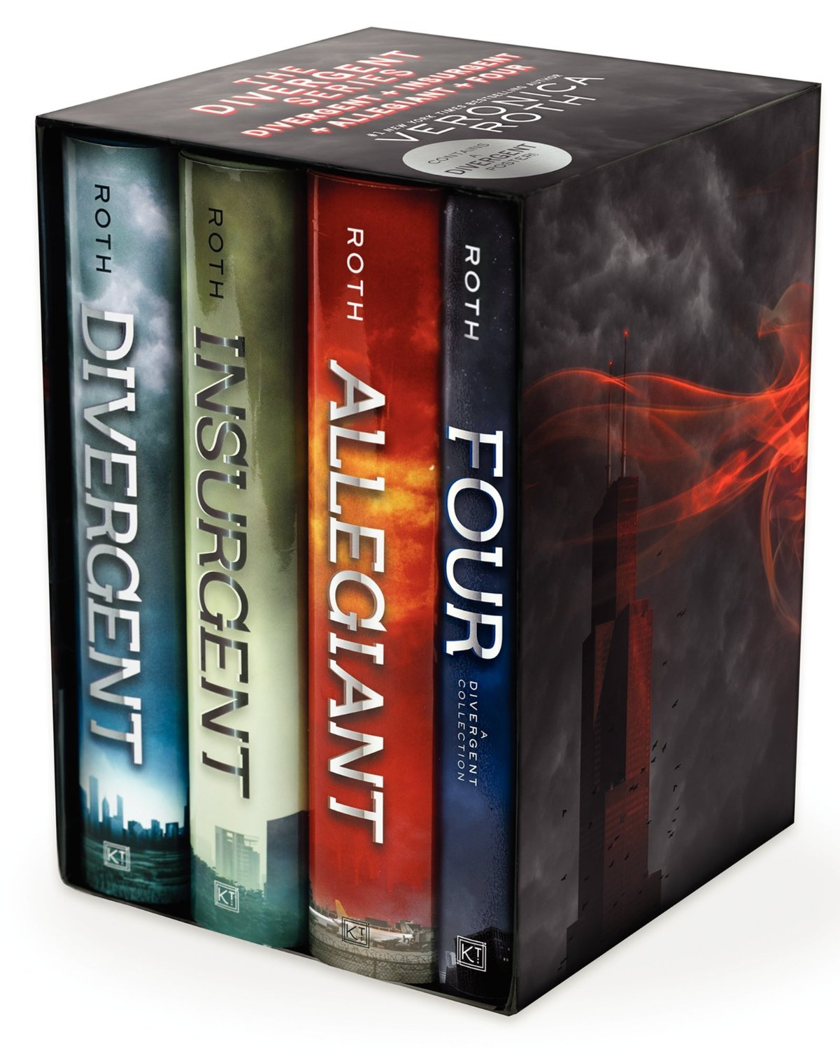 le coffret complet de la trilogie divergent fans france. Black Bedroom Furniture Sets. Home Design Ideas